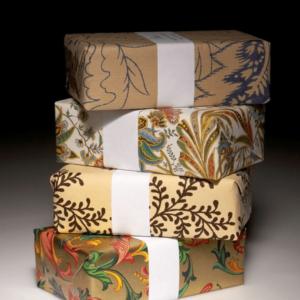 Упаковочная бумага, пакеты