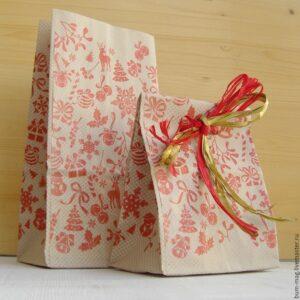 Крафт-пакет Новогодний