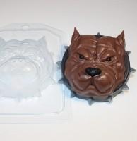 Пластиковая форма Серьезный пес