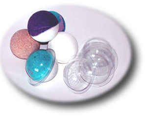 Пластиковая форма для бомбочек Сфера малая