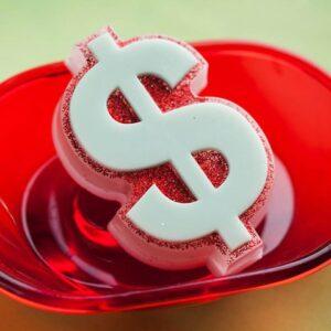 Пластиковая форма Доллар
