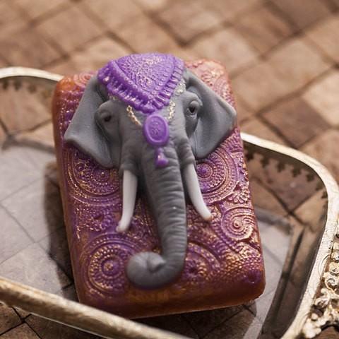 Пластиковая форма Индийский слон