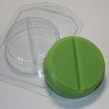 Пластиковая форма Таблетка круглая