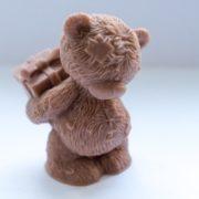 Силиконовая форма Мишка с подарком