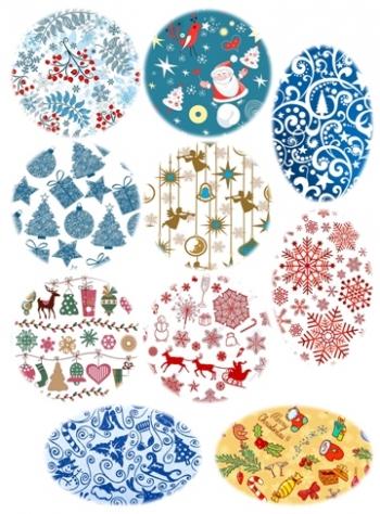 Картинки водоростворимые Новогодние - 1