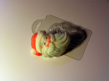 "Пластиковая форма ""Санта"""