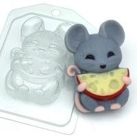 Пластиковая форма Мышь с сыром