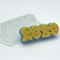 Пластиковая форма Сырные цифры