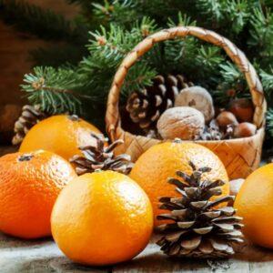Отдушка новогодний мандарин