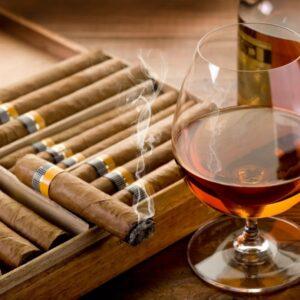 Ароматическое масло Коньяк и сигары