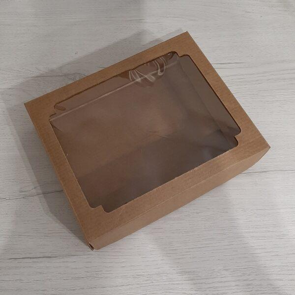 Крафт коробочка. Код 25