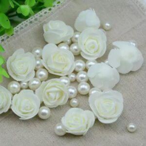 Розы молочные 10 шт.