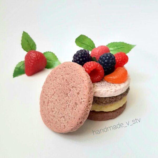Силиконовая форма Корж для пирожного
