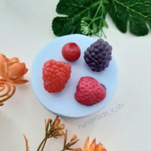 Силиконовая форма Ассорти ягоды