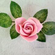 Силиконовая форма Розы садовые