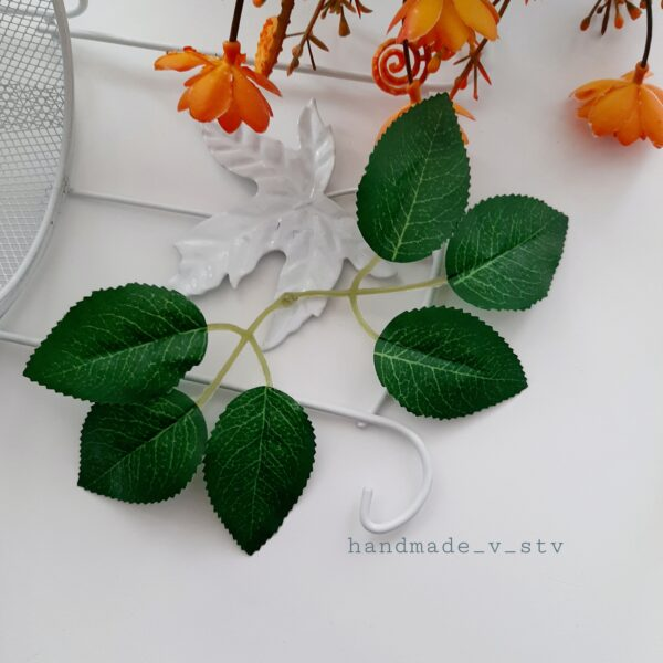 Лист розы двойной 10 шт