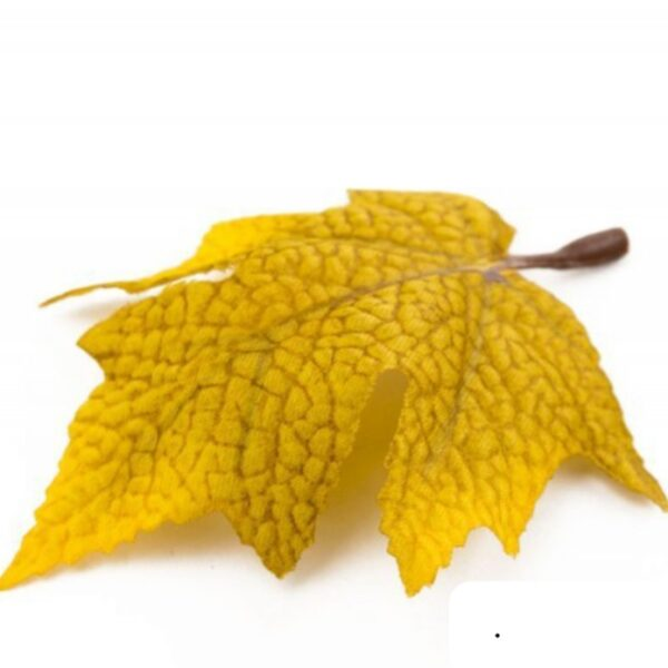 Лист кленовый с ножкой 10 шт