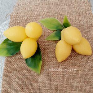 Силиконовая форма Тройник лимонов