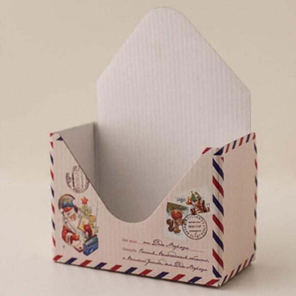 Конверт - письмо от деда мороза
