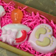 Пластиковая форма Сердце с пяточками