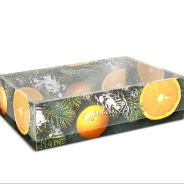 Коробочка Елки - апельсины