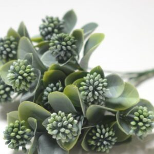 Куст Клевера - зеленый с напылением