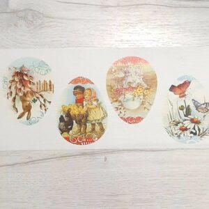Картинки водорастворимые Пасха яйца