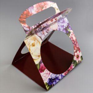 Сумочка для купола Акварель цветы 5 шт