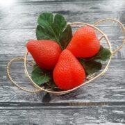 Молд Клубника пищевой силикон (3)