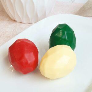 Молд Яйцо граненое пищевой силикон